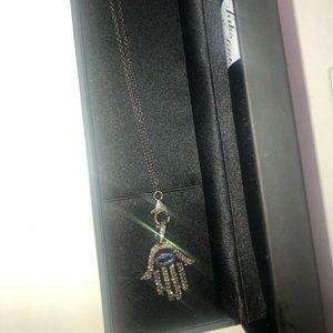 Jewelry - Nina Gilin Hamsa Pendant and chain.